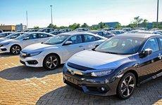 Lượng xe ô tô nhập khẩu giảm mạnh kỷ lục từ 8/6 - 14/6/2018