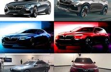 Tổng kết quá trình phát triển 2 mẫu ô tô Việt VinFast qua hình ảnh