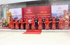 Honda Việt Nam mở rộng mạng lưới đại lý đạt tiêu chuẩn 5S tại Ninh Bình