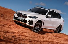 BMW X6 phiên bản mới gây chú ý bằng bộ ảnh phác họa chất lừ