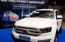 Ford Everest Ambiente MT xuất hiện trong bảng sản phẩm của hãng, giá đặt cọc từ 850 triệu