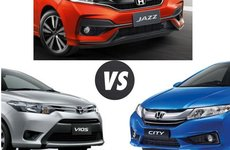 Xe hạng B bán chạy tháng 5/2018: Toyota Vios vẫn số 1, thêm nhân tố mới Honda Jazz