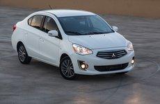 Giá xe Mitsubishi Attrage tại một số đại lý giảm 10 - 15 triệu đồng trong tháng 6/2018