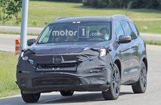 Honda Pilot PHEV 2019 lần đầu lộ diện trên đường thử