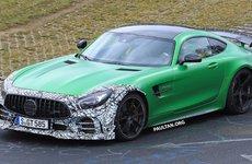 Mercedes-AMG GT R 2018 xuất hiện trên đường đua Nurburgring với sự thay đổi tích cực
