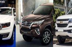 Phân khúc SUV 7 chỗ thêm 3 bản máy dầu mới: Fortuner, Trailblazer đều có thay đổi