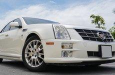 Mẫu xe sang Mỹ Cadillac STS 2009 có giá dưới 900 triệu đồng