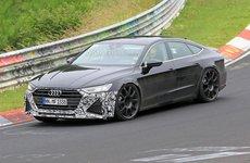 Audi RS7 2019 xuất hiện trên đường thử, khoe sức mạnh động cơ V8 600 mã lực