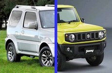 So sánh Suzuki Jimny sắp ra mắt với phiên bản 1998 của người tiền nhiệm