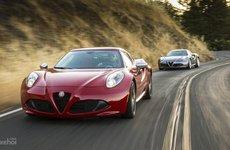 Alfa Romeo 4C Spider vẫn sống tốt bất chấp phiên bản Coupe bị khai tử