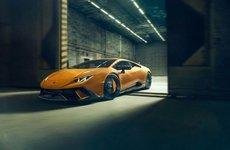 Lamborghini Huracan Performante 'dữ tướng' hơn sau khi qua tay hãng độ Novitec