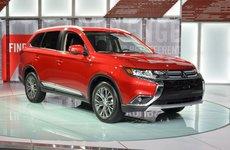 10 mẫu xe tốt nhất thay thế Honda CR-V: Mitsubishi Outlander là sự lựa chọn hoàn hảo