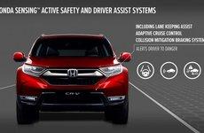 Honda CR-V mới sắp bán tại châu Âu có mức an toàn cao nhất lịch sử dòng xe