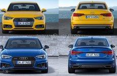 So sánh Audi A4 2019 mới và bản 2016 cũ