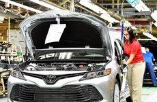 Mỹ tăng thuế, Toyota Camry nhập khẩu phải đội giá