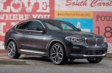 BMW X4 2019 công bố giá bán khởi điểm từ 51.000 USD tại thị trường Mỹ