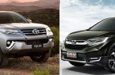 Loạt xe nhập miễn thuế tăng giá tháng 7: Honda CR-V và Toyota Fortuner châm ngòi