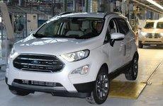 Ford EcoSport mới sử dụng hệ dẫn động 4WD bị bắt gặp khi chạy thử