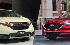 Nhìn lại cuộc chiến doanh số của Mazda CX-5 và Honda CR-V 6 tháng đầu năm 2018