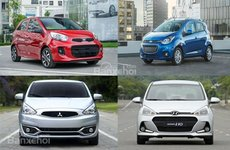 Phân khúc xe đô thị cỡ nhỏ tháng 6: ''Vị vua bí ẩn'' Hyundai Grand i10 đã lộ diện