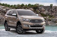 Ford Everest 2018 giá từ 900 triệu đồng bán ra tại Thái Lan, sốt ruột về Việt Nam
