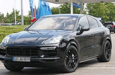 Porsche Cayenne Coupe 2020 đã hiện nguyên hình trên đường thử