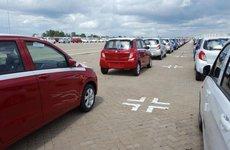 Cận cảnh 202 xe Suzuki Celerio hưởng thuế 0% đầu tiên về nước
