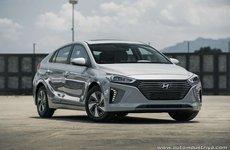 Hyundai Ioniq chạy hoàn toàn bằng điện có giá 807 triệu đồng