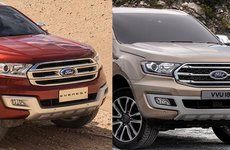 Ford Everest 2018 mới và cũ khác nhau như thế nào?