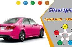 Chọn màu xe nào để hợp tuổi 1990?