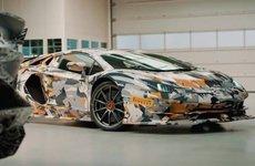 Lamborghini Aventador SVJ lộ video chạy thử đầu tiên tại Nurburgring