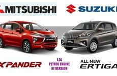 MPV nhập giá chỉ 600 triệu đồng, chọn Mitsubishi Xpander hay Suzuki Ertiga 2018?