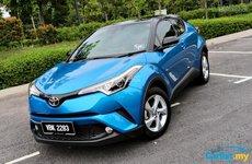 Doanh số Toyota tăng mạnh, Toyota C-HR vượt mặt Mazda CX-5 và Nissan X-Trail