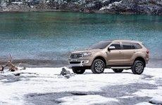 Ford Everest 2019 công bố giá và thông số tại Úc