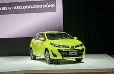 Giá lăn bánh Toyota Yaris 2018 mới nhất vừa bán ra tại Việt Nam