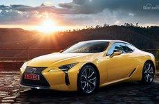 Vén màn Lexus LC Yellow Edition trước ngày ra mắt