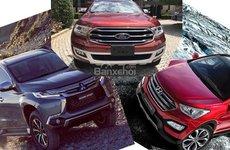 Phân khúc SUV cỡ trung tháng 7: Fortuner chưa mở bán, Santa Fe ''làm loạn''