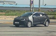 Hyundai Grand i10 phiên bản mới hé lộ ảnh chạy thử