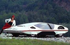 Ấn tượng người đẹp bên mẫu Ferrari 512S Modulo Concept phong cách phi thuyền
