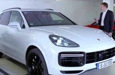 Porsche Cayenne lần đầu ứng dụng đỗ xe từ xa thông minh