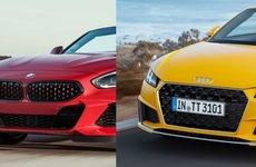 So sánh BMW Z4 2019 và đối thủ truyền kiếp Audi TT Roadster qua ảnh