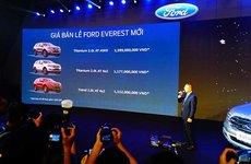 Chi tiết Ford Everest 2018 tại lễ ra mắt khách Việt, rẻ hơn 500 triệu so với trước
