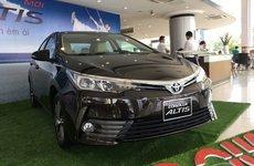 Tư vấn vay mua xe Toyota Altis 2018 trả góp lãi suất thấp nhất