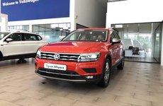 Volkswagen Tiguan Offroad vén màn ra mắt tại Triển lãm Ô tô Moscow ở Nga