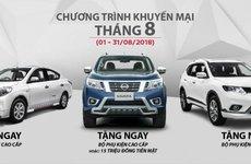 Nissan khuyến mại tháng 9/2018 dành cho X-Trail, Sunny và Navara