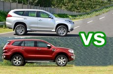 Xe nhập miễn thuế nào giảm giá mạnh nhất tại Việt Nam: Everest hay Pajero Sport?