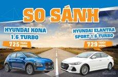 725 triệu, mua Hyundai Kona 1.6 Turbo hay Elantra Sport 1.6 Turbo - SUV hay sedan?