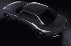 Peugoet 508 Coupe úp mở trong ảnh teaser mới, có thể lộ diện tại triển lãm Paris