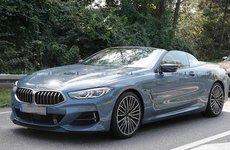 BMW 8-Series mui trần lộ diện trên đường thử