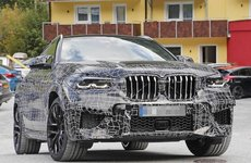BMW X6 M 2020 lần đầu lộ ảnh chạy thử